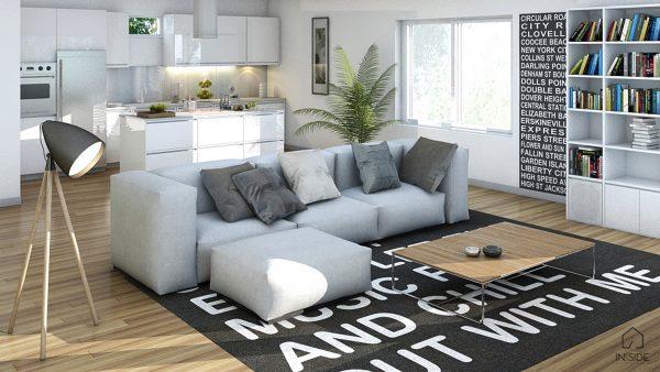Condominium Livingroom